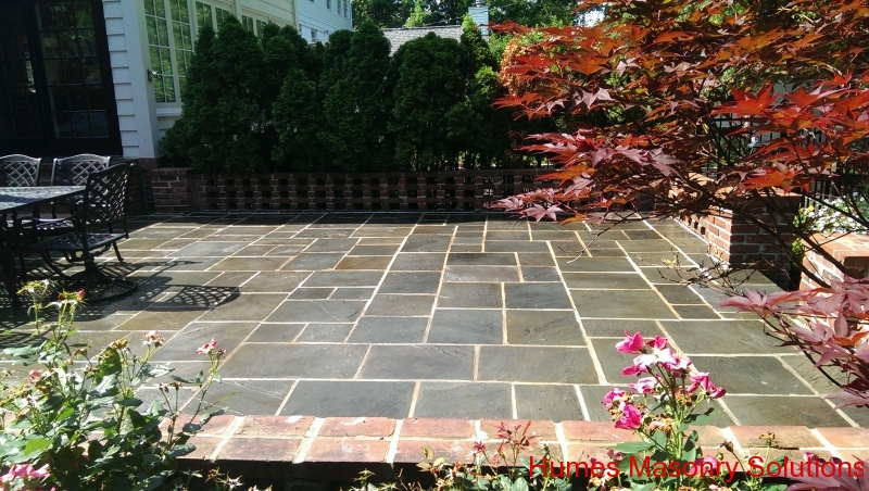 St. Louis Cut Blue Stone Patio