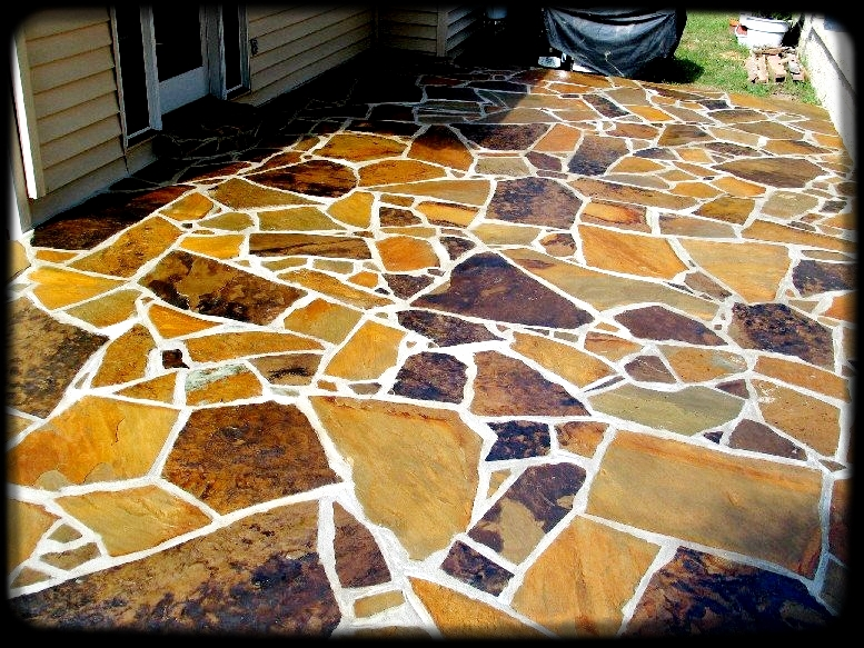 Flagstone Patio Installed In Fenton, MO