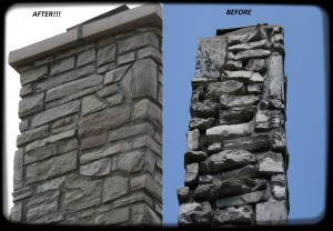St. Louis Stone Chimney Repair: Rebuild in Pacific, MO